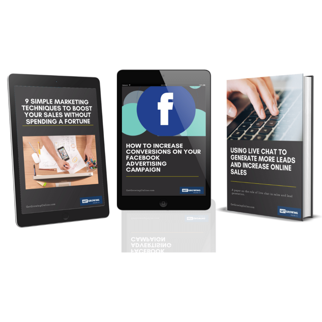 online busness sales and marketing ebook trio