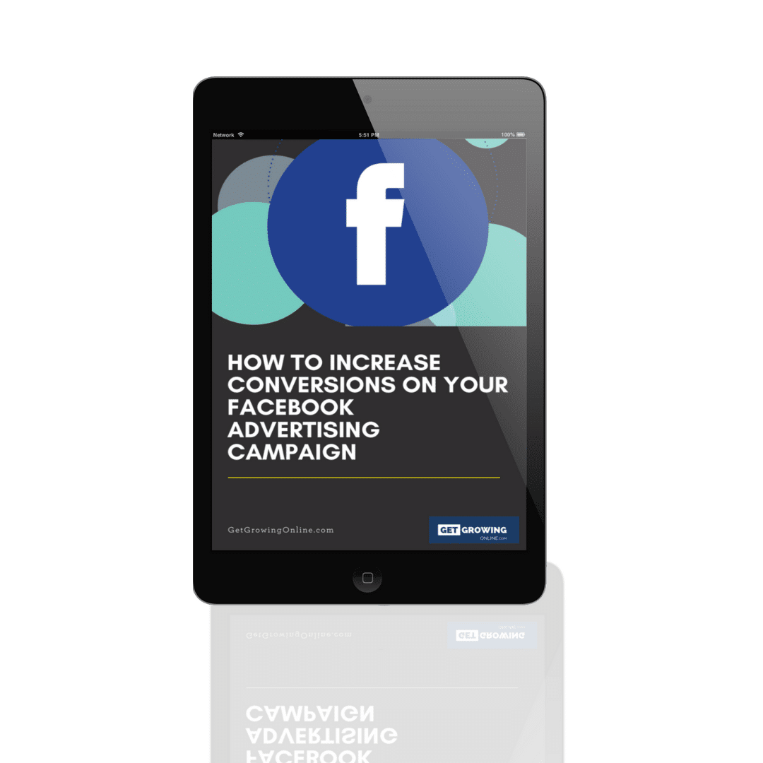 How to increase facebook ads conversions for online business ebook training
