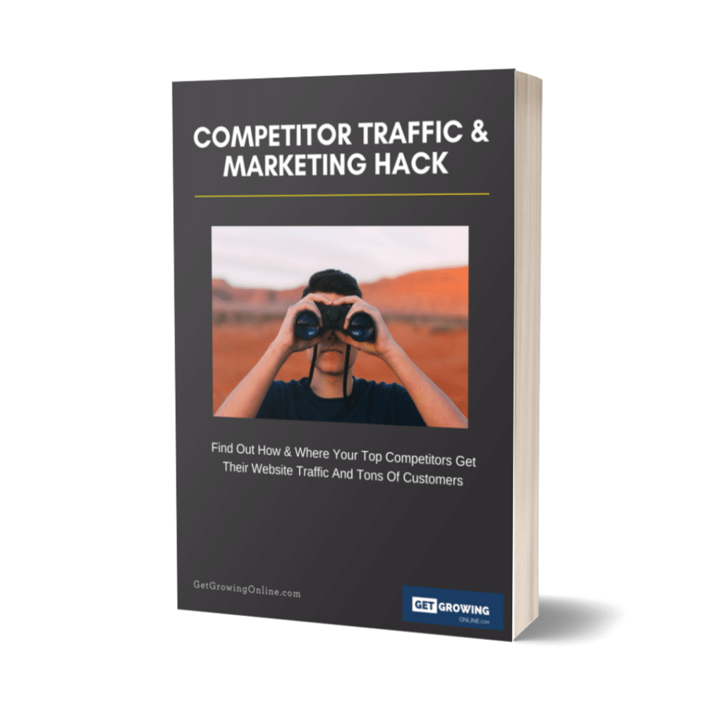 Online entrepreneurs competitor growth hacking guide by Aaron Henriques
