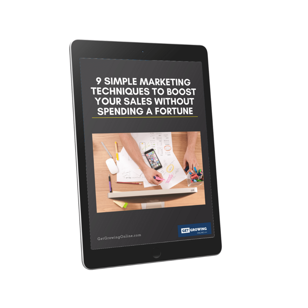 9 online marketing ideas for UK startup business pdf training